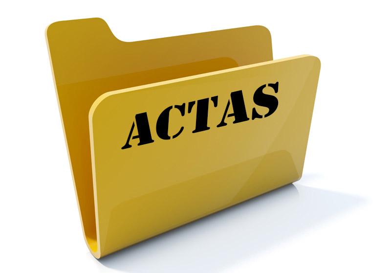 ACTAS DEL CONSEJO DE ADMINISTRACIÓN