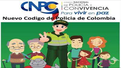 CÓDIGO NACIONAL DE POLICÍA Y CONVIVENCIA